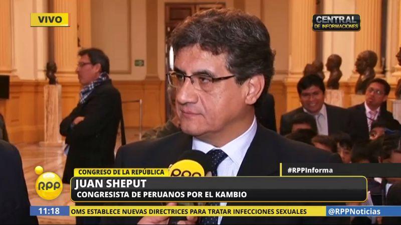 Juan Sheput consideró que el ministro Basombrío está tomando una postura frontal en su sector.