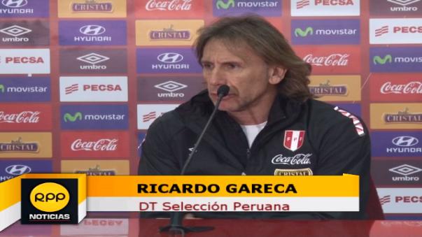 Ricardo Gareca asumió como DT de Perú en marzo del 2015