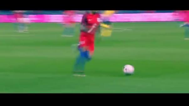 Jamie Vardy golazo con la Selección Inglesa.