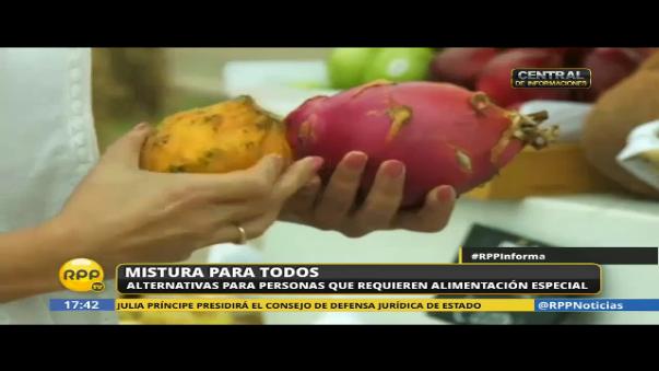 Algunas frutas como la pitahaya y el yacón, son recomendables para las personas diabéticas. Las puedes encontrar en el Gran Mercado de Mistura.