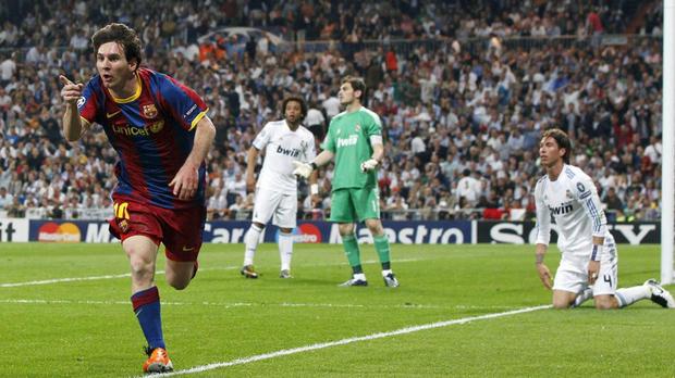 Barcelona ganó la Champions en el 2010 tras derrotar en la final al Manchester United.