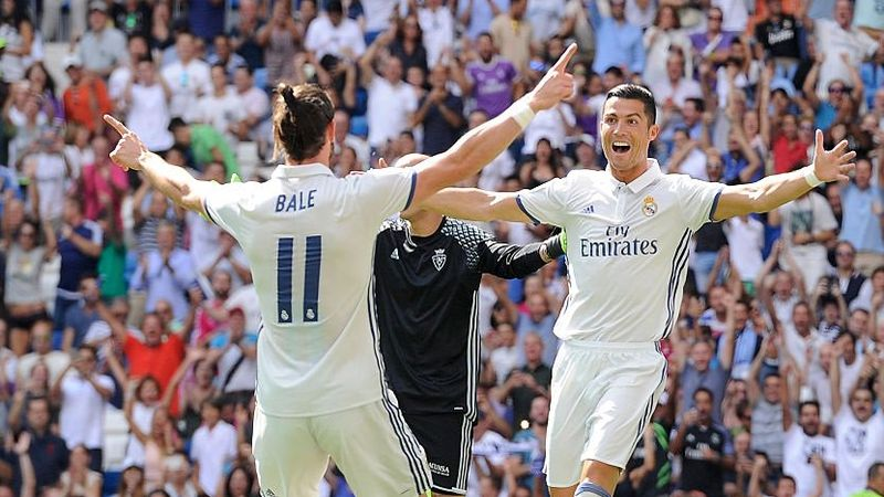 Real Madrid ha ganado todos los encuentros que ha disputado hasta el momento en Liga.