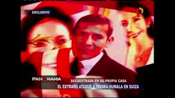 Hermana del expresidente Humala es secuestrada en su casa de Suiza.
