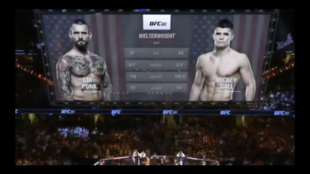 Así fue la pelea de Conor McGregor ante Mickey Gall.
