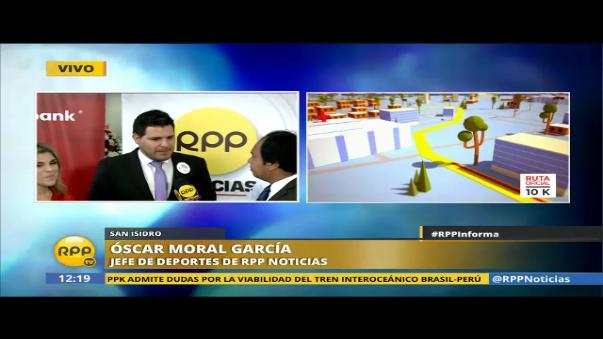 Oscar Moral, editor de Deportes, y Gonzalo Rodriguez Larrain, presidente de Perú Runners, también dan detalles de la Maratón RPP Scotiabank.