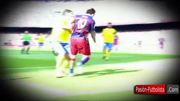 Los gestos de dolor de Messi alarmaron a todos en el Barcelona cuando se lesionó la rodilla en el 2015.