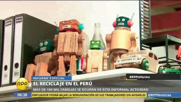 El reciclaje en el Perú.