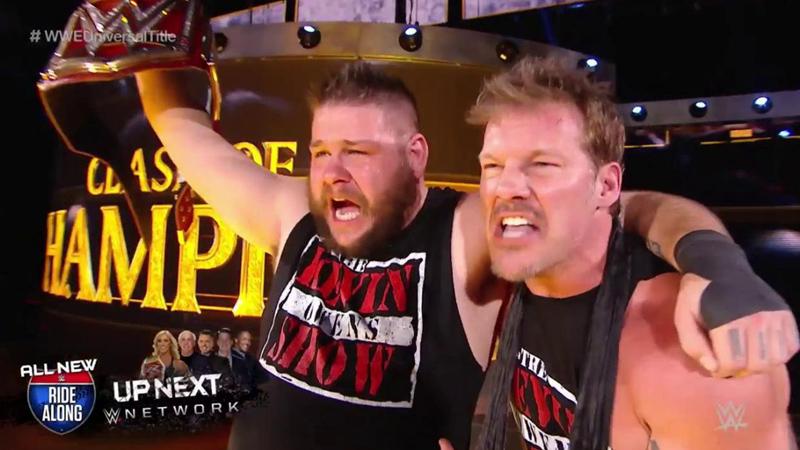 Kevin Owens tiene como logros en su carrera, el título de NXT.