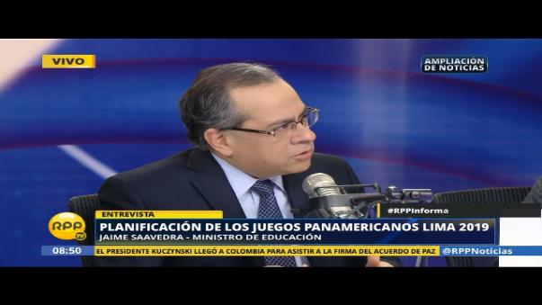Jaime Saavedra es economista de profesión.