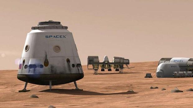 SpaceX preparó un video sobre que como serían los viajes de colonización de Marte.