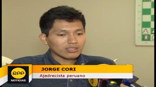 Jorge Cori tiene 21 años y tiene el grado de Gran Maestro Internacional.