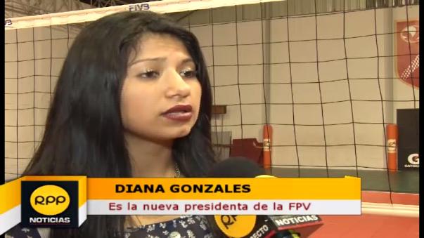 Diana Gonzales fue a prepararse a los Estados Unidos.