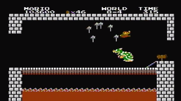 Jugador acabó Super Mario Bros. en menos de cinco minutos.