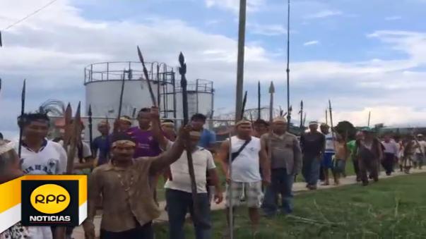 Luego de 37 días de iniciado el paro, los nativos dieron cinco días como muestra de buena fe par que autoridades realicen el diálogo en la zona.