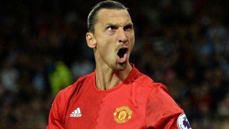 Zlatan Ibrahimovic llegó esta temporada al Manchester United, procedente del PSG.