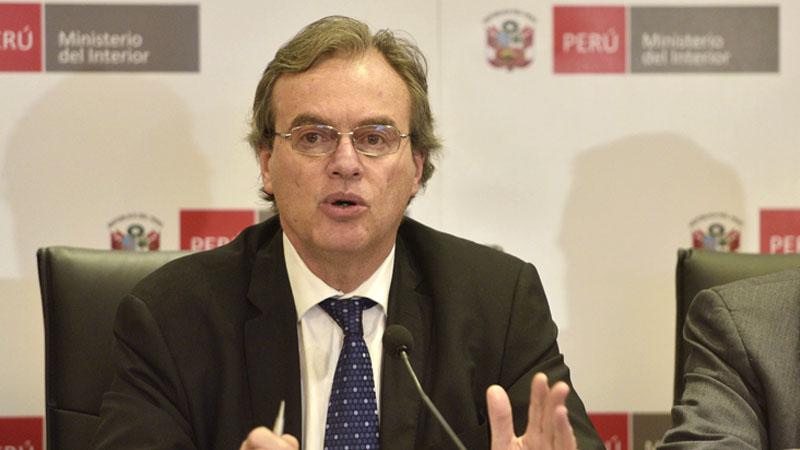 El ministro Carlos Basombrío resaltó la desarticulación de 14 bandas criminales durante los 22 megaoperativos organizados a nivel nacional