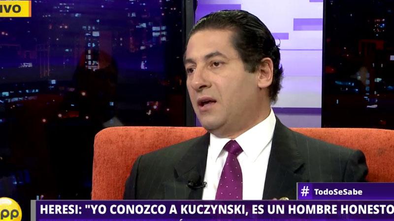 El congresista Salvador Heresi considera que la secretaria no ha estado a la altura del cargo.