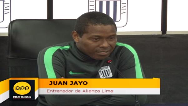 Juan Jayo dirigirá su segundo partido en Alianza Lima.
