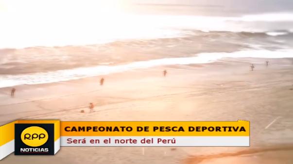 Tumbes será sede del primer Campeonato de Pesca Deportiva.