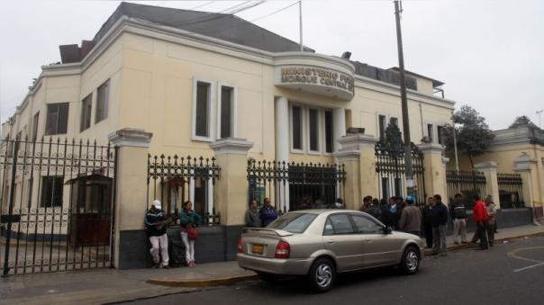 El cuerpo de Ítalo Abarca Zegarra fue trasladado a la Morgue Central de Lima.
