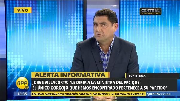 Asi se defenció Jorge Villacorta de las acusaciones en su contra.