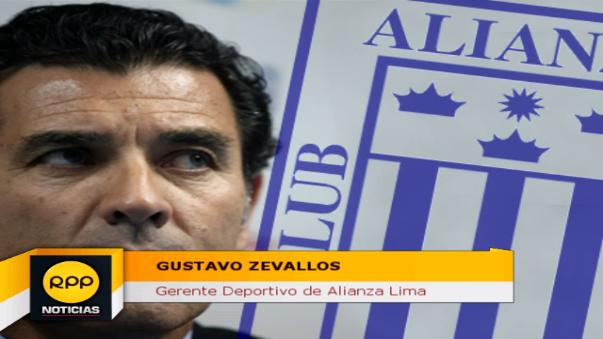 Zevallos dijo en Fútbol como Cancha de RPP que no se