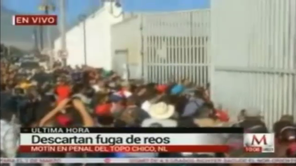 Un motín en una cárcel de Nuevo León, México, en febrero de este año, dejó 49 muertos y 12 heridos.