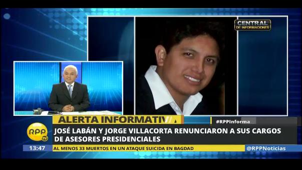 Labán dijo que renunció como un hombre de partido ante denuncias.