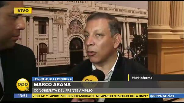 Marco Arana (Frente Amplio) anunció su decisión de convocar al Congreso tanto a Basombrío como a los ministros de Energía y Minas, Gonzalo Tamayo, y a la titular de la cartera ministerial del ambiente, Elsa Galarza, por este mismo tema.