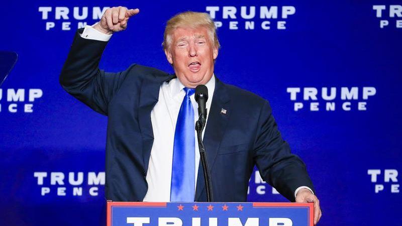 """Donald Trump no ha dudado en acusar que las elecciones presidenciales están """"amañadas""""."""