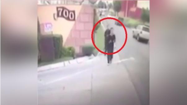 El asesinato se dio mientras la víctima se ejercitaba en la calle.