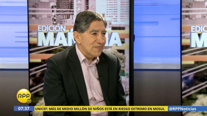 """Avelino Guillén dijo que PPK tiene """"autoridad moral"""" para exigir las investigaciones del caso."""