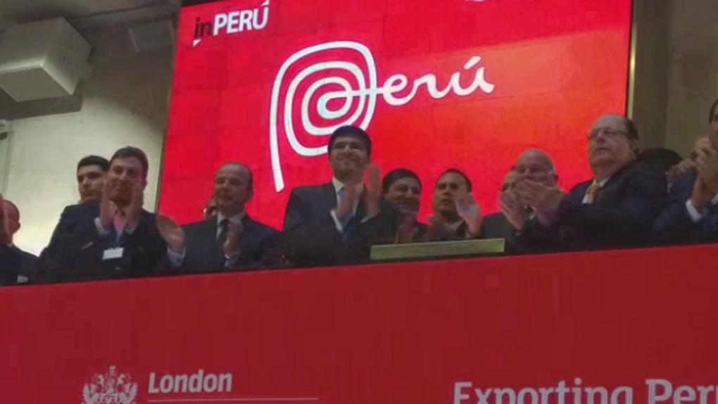 Perú dio campanazo de apertura en la Bolsa de Londres.