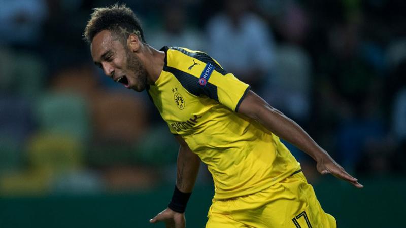 Pierre Emerick Aubameyang lleva 3 goles en esta edición de Champions League.