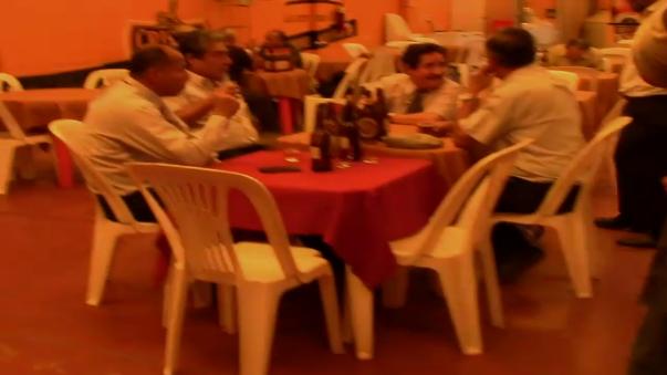 Edgar Dante Saavedra fue sorprendido libando licor en un bar del centro de la ciudad