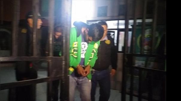 Los delincuentes fueron capturados poco después del atraco.