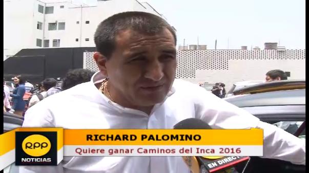 Richard Palomino ganó Caminos del Inca en el 2013.