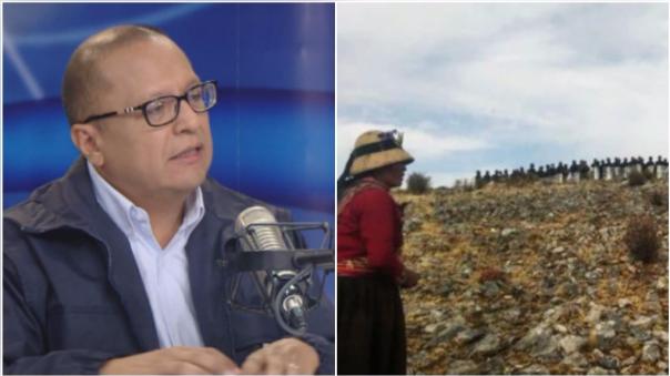 Tamayo : No encontramos eco en pedido para el diálogo en Las Bambas.
