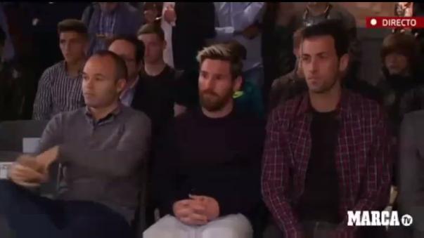 Messi y Neymar fueron el año pasado dos de sus asistentes más asiduos, algo que, en opinión de Suárez,
