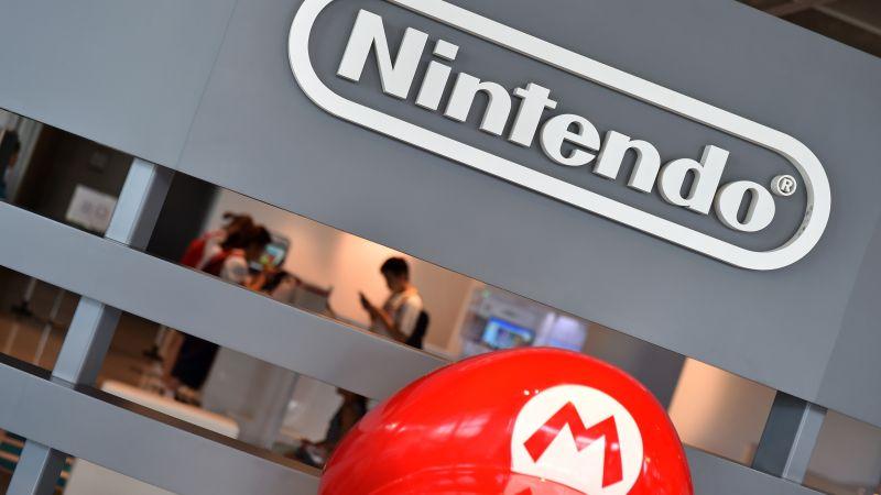 Las acciones de Nintendo llegaron a caer 7,14% en la sesión de hoy, pero se recuperaron hasta 6,55%.