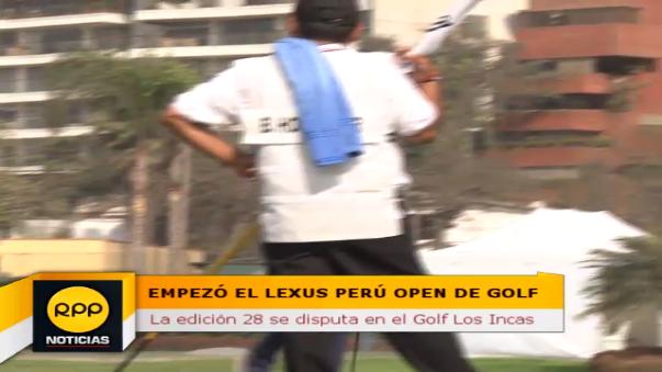 La edición 28 del Lexus Perú Open inició el jueves 20 de octubre y durará hasta el domingo 23 del mismo mes.