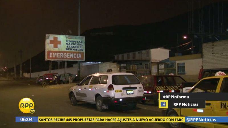 El cadáver de Darwin Arenazas Rodríguez continúa en la morgue del hospital.