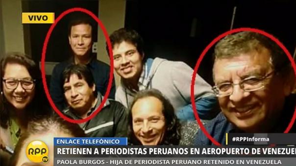 Los cuatro periodistas volverán a Lima