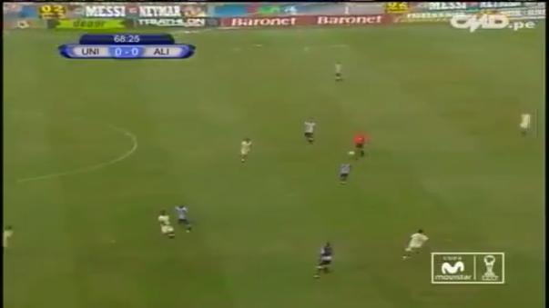 El gol de Christofer Gonzales para la última victoria de la 'U' en el Monumental.