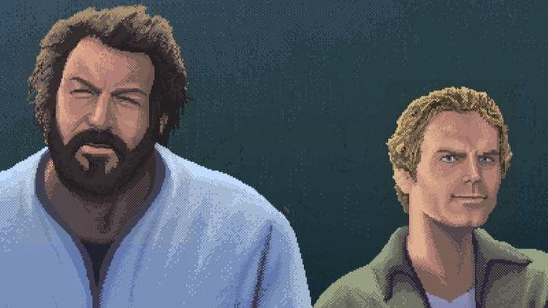 El videojuego sobre Bud Spencer y Terence Hill tiene gráficos retro y se juega en cooperativo.