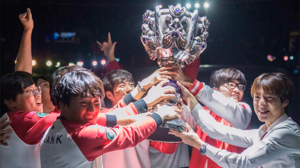SK logró el tricampeonato en League of Legends.