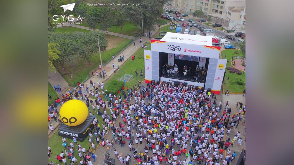 La Maratón RPP-Scotiabank 2016 contó con la participación de más de 9 mil personas.