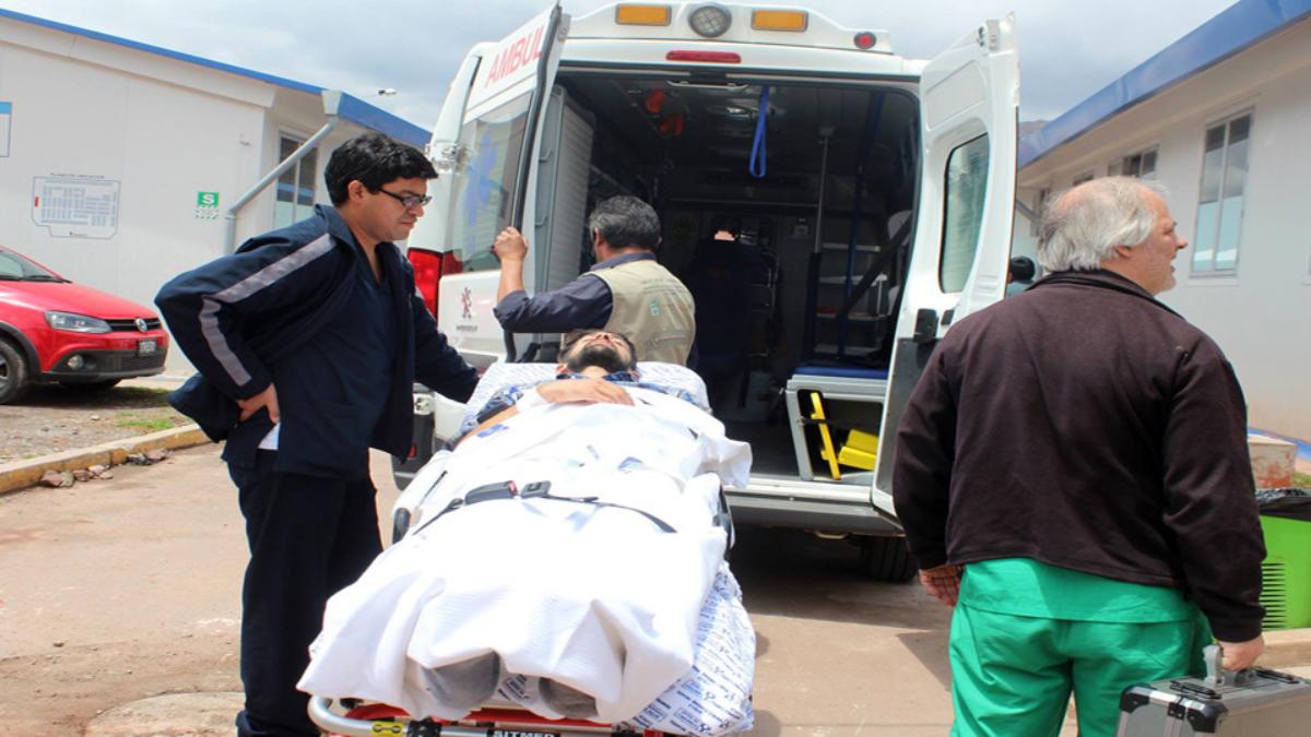Argentino que sufrió accidente en Urcos fue evacuado a su país - RPP Noticias