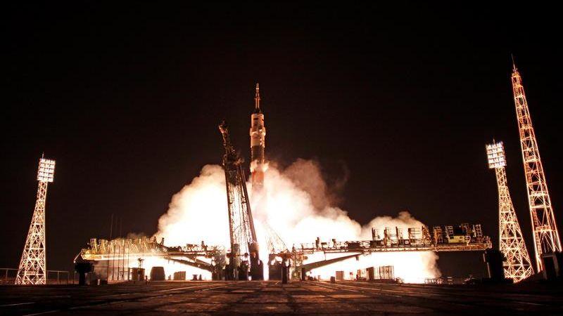 El lanzamiento se efectuó a las 20.20 GMT con ayuda de un cohete portador Soyuz-FG.