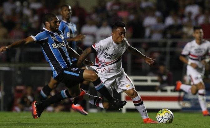 Christian Cueva está en un buen momento con el Sao Paulo.